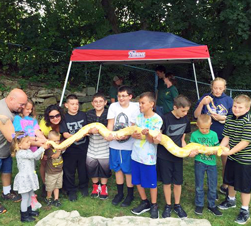 Reptile Shows of New England Birthday Parties